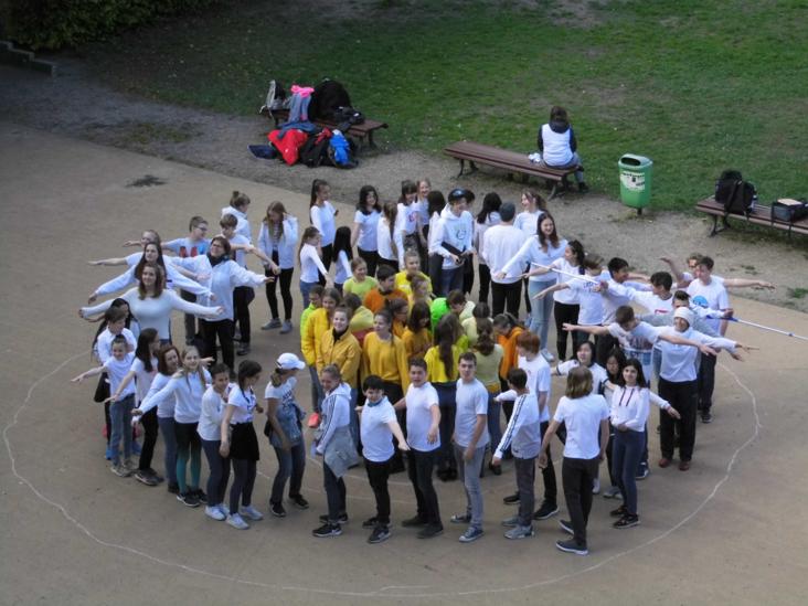 Umweltschule Hofbild